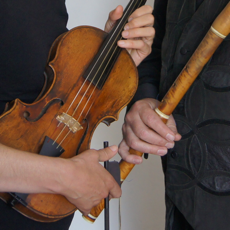 Picture of violin and flute